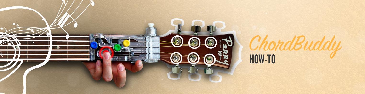 How To Tune A Guitar Guitar Tools Chordbuddy Chordbuddy