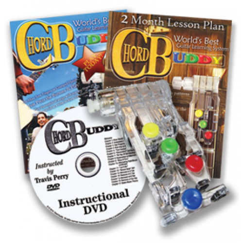 ChordBuddy Learning System Edition: Includes Color-Coded ...
