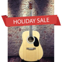 Holiday sale for adult acoustic guitar