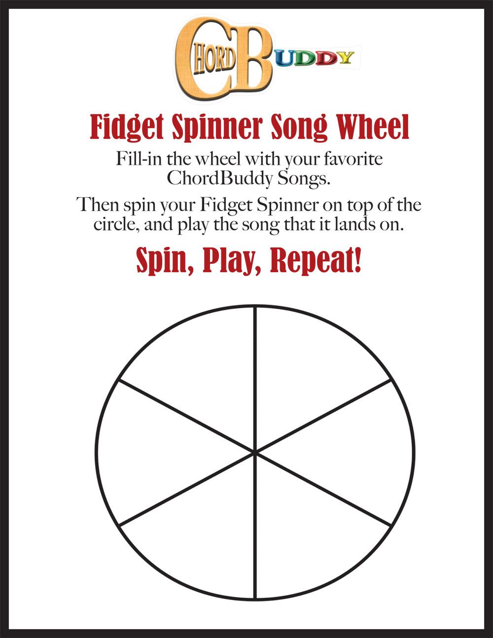 Fidget Spinner Song Selection