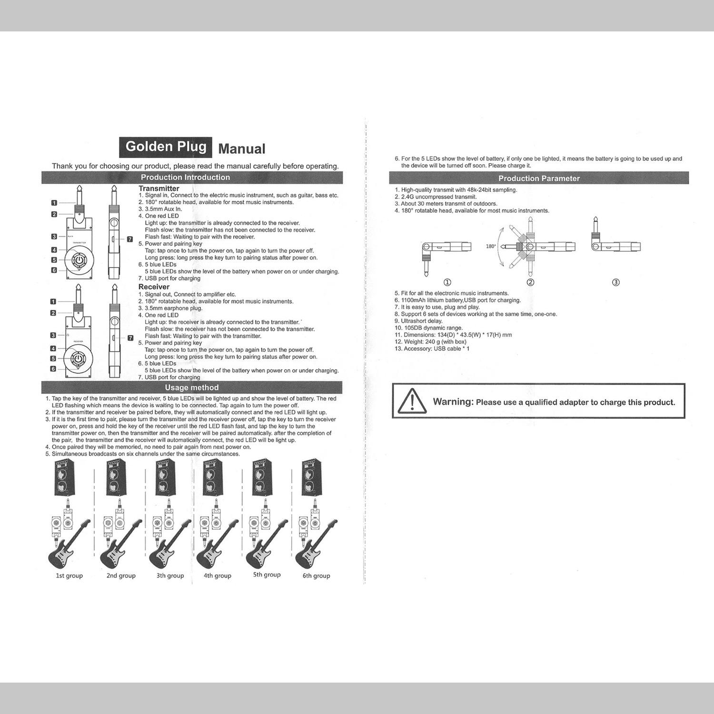 Cbwirelessguitarsystemmanualsq Chordbuddy